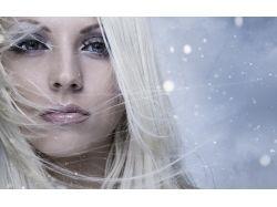 Фото зима девушка 4