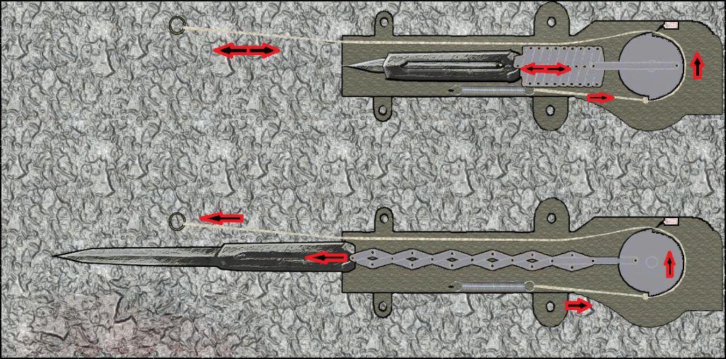 Как сделать скрытые клинки как в ассасине