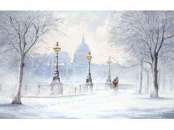Картинки зима с вьюга 7