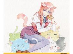 Картинки аниме девушек арт 7