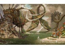 Фэнтези картинки море 7