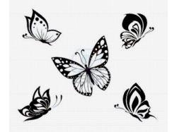 Черно белые стереокартинки 7