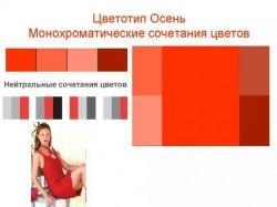 Цветотип осень фото женщин 4
