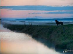 Фото вода в тумане 7