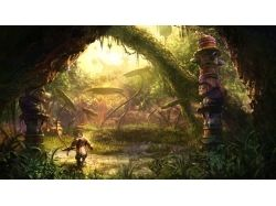 Фэнтези картинки лес 4