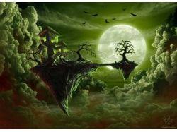 Фэнтези картинки лес 5
