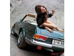 Автомобили и девушки картинки 2