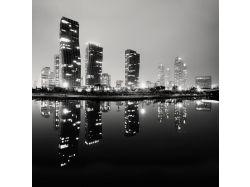 Широкоформатные фото городов черно белые 7