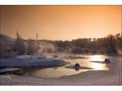 Фото зима пейзаж высокого разрешения 6