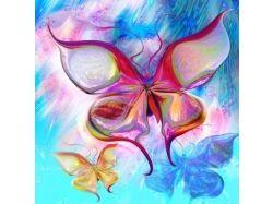 Бабочки фэнтези картинки 3