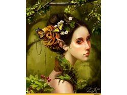 Бабочки фэнтези картинки 4