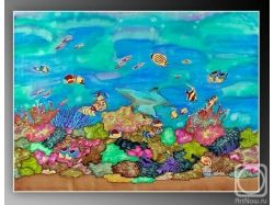 Как купить декор подводный мир 2