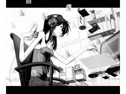 Картинки аниме  за компом 4