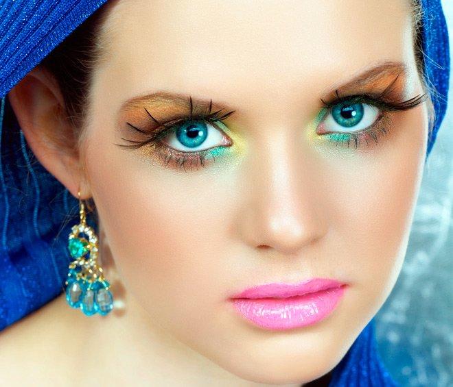 Фото самых красивых макияжей мира
