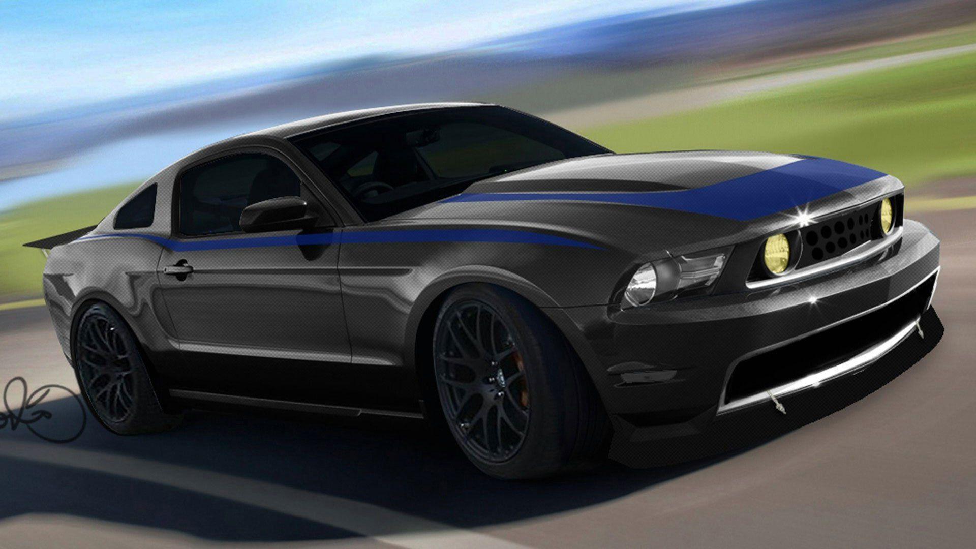 Ford Mustang без смс