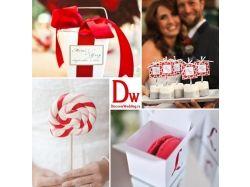 Свадьба в красном цвете фото