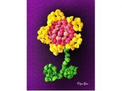 Поделки цветы из бумаги картинки