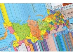 Карта россии с городами картинки