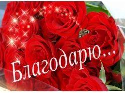 Благодарю картинки цветы