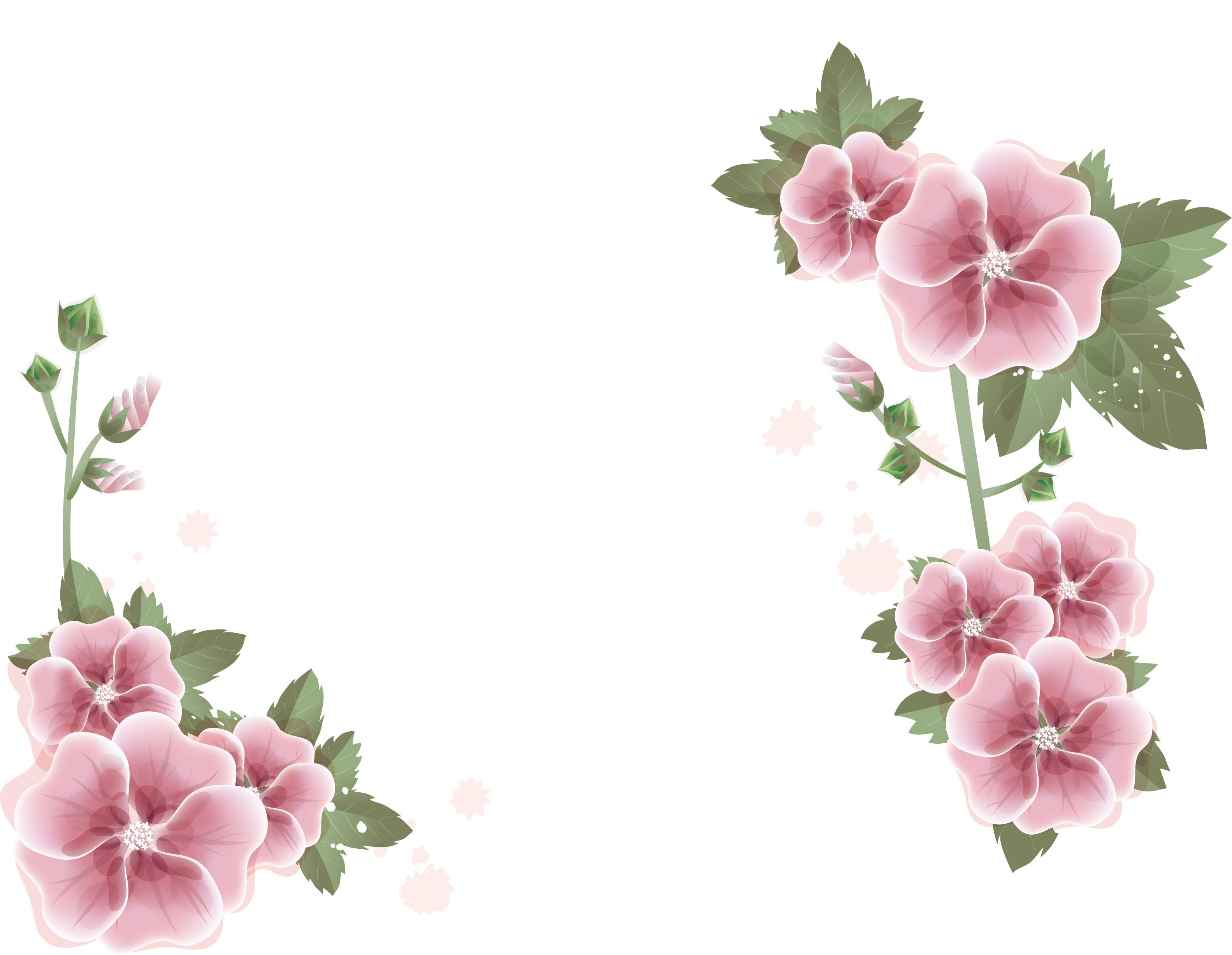 Картинки, цветочки на открытки маленькие