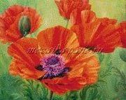 Цветы мозаика картинки