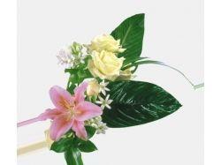 Картинки цветов из символов