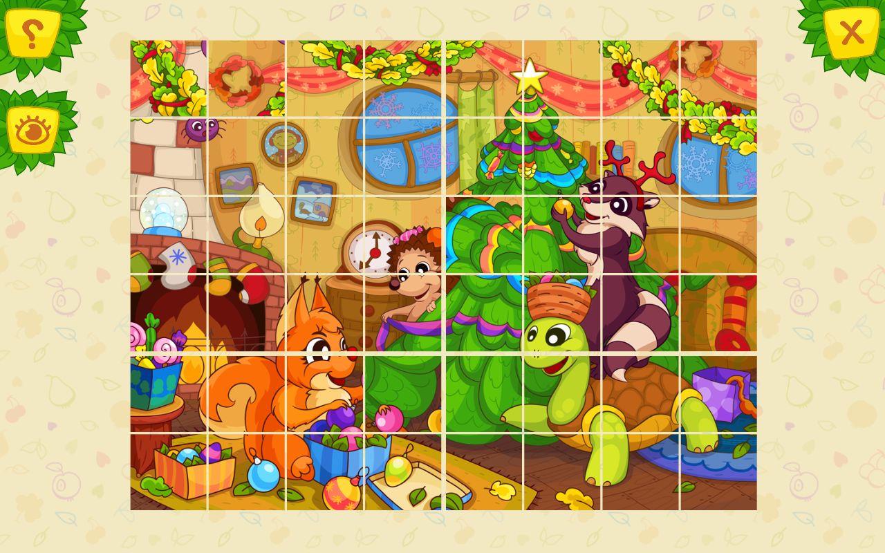 Развивающие игры собрать картинки