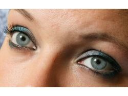 Глаза голубого цвета фото