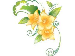Мультяшные картинки цветов