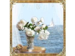 Картинки блестящие красивые цветы