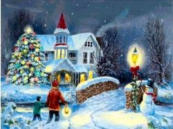 Картинки зима и новый год