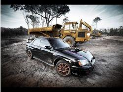Subaru impreza wrx sti обои