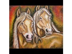 Фото картин с лошадьми
