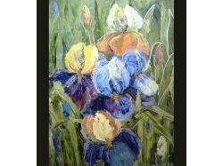 Цветы картинки живопись