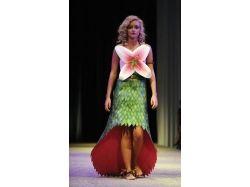 Платье цветок