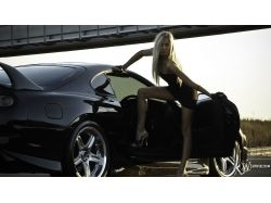 Авто и девушки картинки