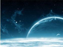 Как сделать фото на фоне космоса