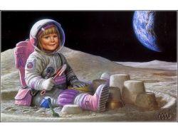 Как сделать фото на фоне космоса 3