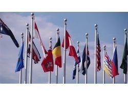 Флаги стран мира обои