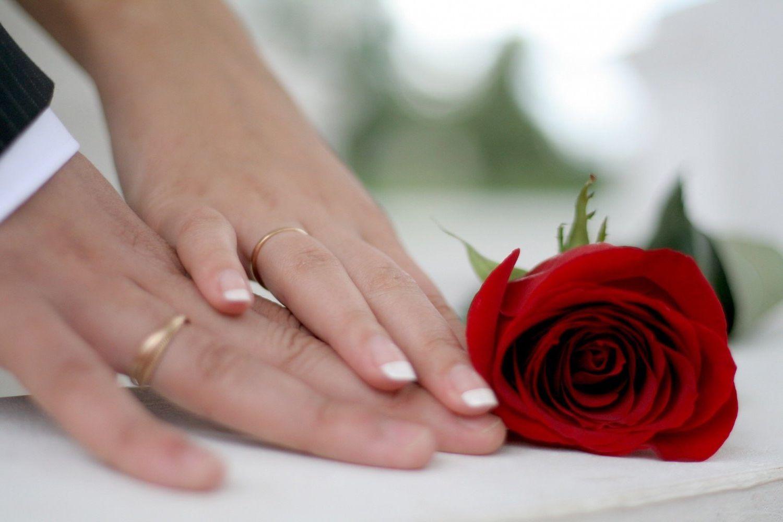 Картинки с днем свадьбы жене
