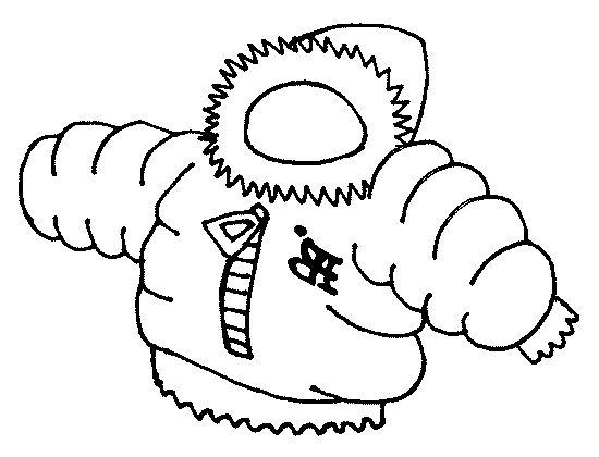 Раскраски для детей зимняя одежда » Скачать лучшие ...
