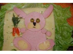 Поделки из еды для детей
