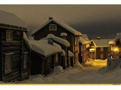 Норвегия зима фото