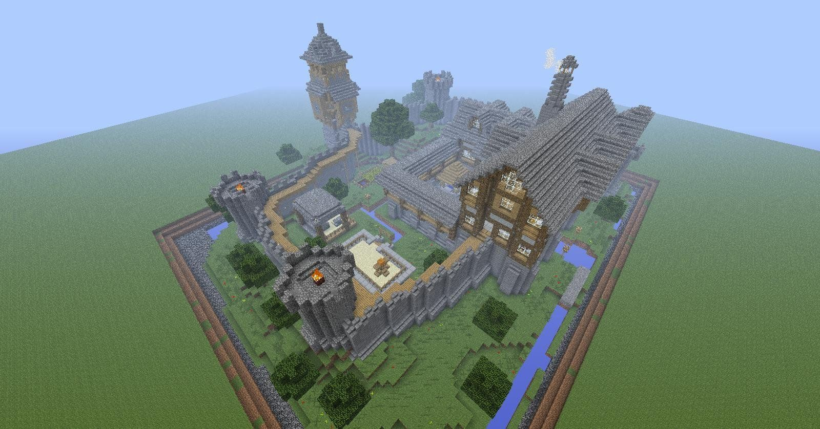 Tale of Kingdoms - Мод на замки для Майнкрафт 1.6.4/1.6.2