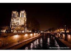 Париж зима фото
