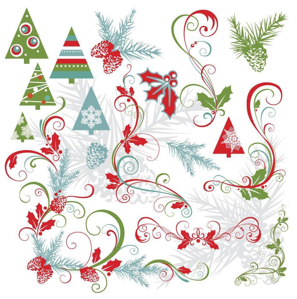 Жемчуг открытка, новогодний узор открытки
