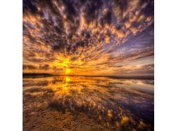 Красивый восход солнца фото 5