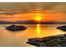 Красивый восход солнца фото 7