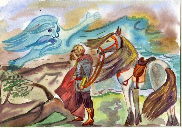 Пушкин иллюстрации к сказкам нарисовать