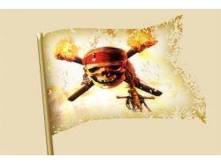 Пиратские флаги картинки 3